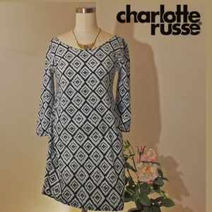Charlotte russe XL stretchy sleeve dress